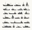 Ships set. - 81943691