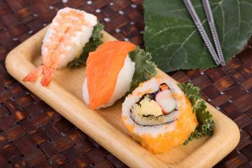 Japanese sushi traditional japanese food
