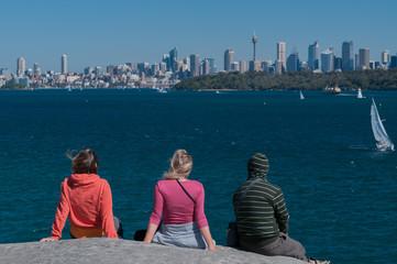 Sydney Bay view from watson bay