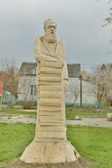 Парковая статуя  из дерева