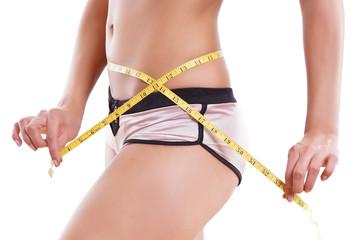 Umfang Diät Frau