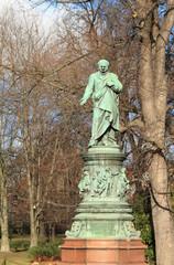 Monument to Albert Lanna. Ceske Budejovice, Czech Republic