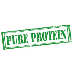 Pure Protein-stamp