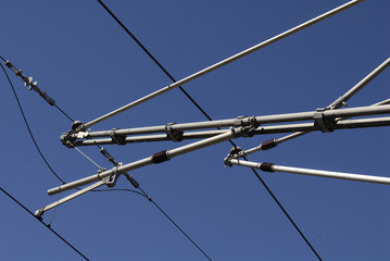 electric train wires