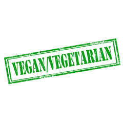 Vegan/Vegetarian-stamp