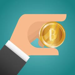 Bitcoin design.