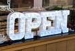 Open signage - 81947411