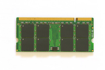ddr computer ram isolated