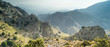 panoramic view to mountains valley on Crete in Greece - 81947657