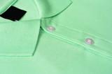 Green Polo T-shirt.