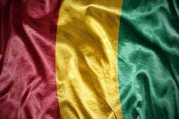 shining guinea flag