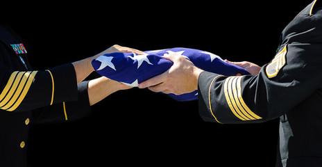 Handling the flag