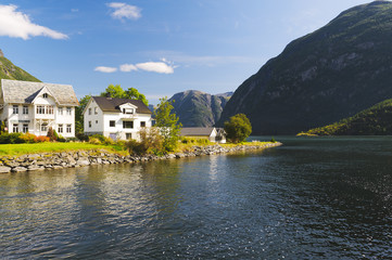Norwegian rural landscape