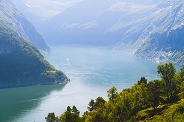 View of the Geiranger