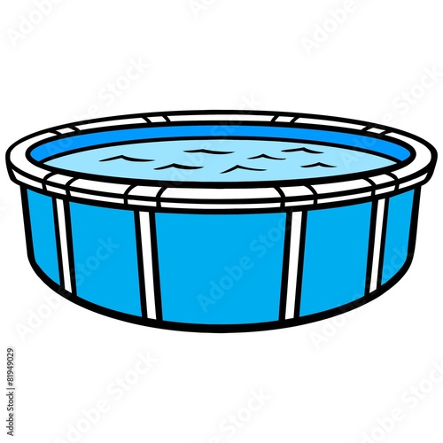 Above Ground Swimming Pool - 81949029