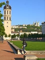 Place Antonin Poncet,Tour de l'horloge de la Charité,Lyon