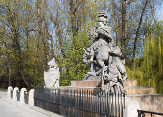 Statue of King John III Sobieski in Warsaw