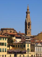 Firenze,campanile di Santa Croce.