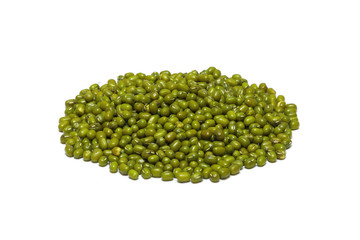 green gram dal isolated