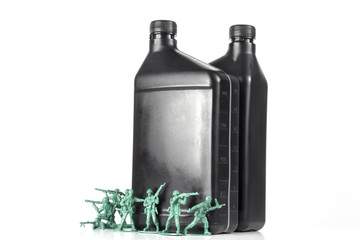 Army Men Oil