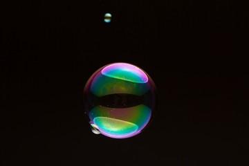 seifenblase groß und klein