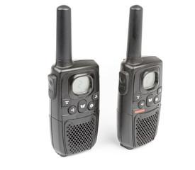 Black Personal Radio isolated on white