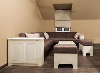 loft apartment interior living room
