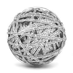 Sphere of words
