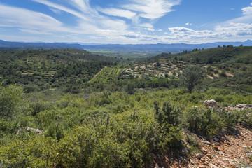 Montañas de Castellón interior (España).