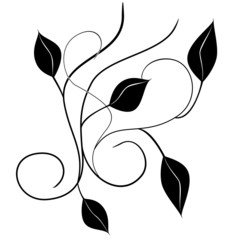 Letters abstract decorative doodles pattern Hand-Drawn Vector