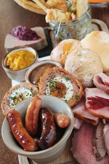 mixed meat sharing platter
