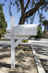 Postal mail box of at the street corner, Camarillo, CA