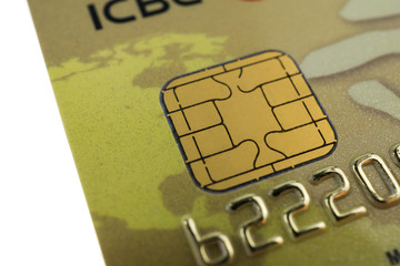 Close up of ccredit card