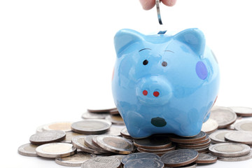 .Piggy bank increasing your finance growing
