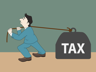 Businese Man Tax
