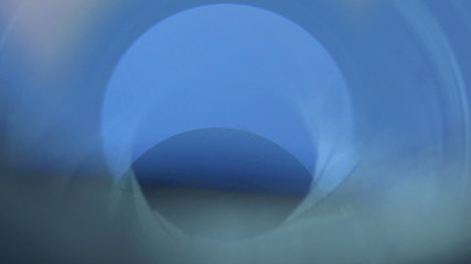 The lens camera shot process, manual diaphragm