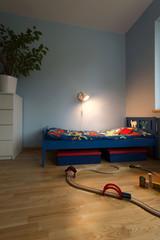 Beauty bedroom for boy