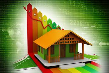 3d, Energy efficiency concept