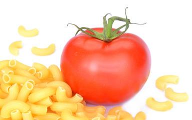 Tomaten und pasta