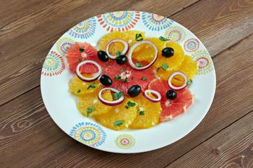 Sicilian orange salad