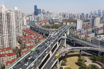 Shanghai urban traffic