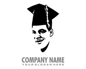 scholar learner colleger logo image vector