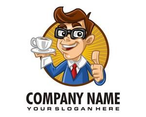 boy man logo image vector
