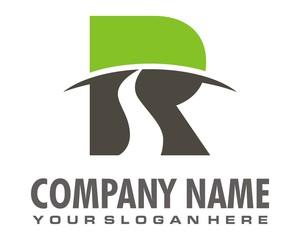 road view logo image vector