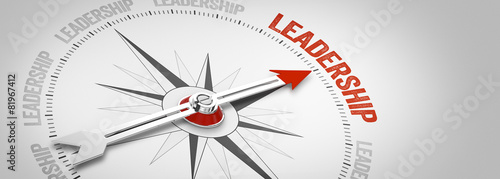 Leinwandbild Motiv Leadership