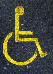 handicapped zone