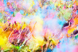 Happy people during   Festival of colours Holi