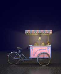 Carretto gelati - notturno