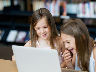 Technology and fun in the library