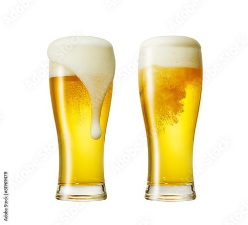 グラスビール2個 - 81969479
